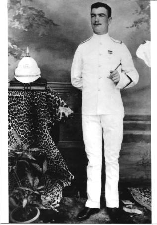 Image of Paul Thomas Bevan in uniform