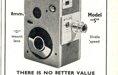 Miller Cine Company advert.