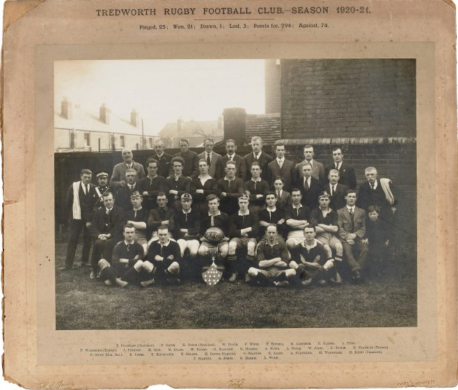 Photo of Tredworth Rugby Football Club 1920-21