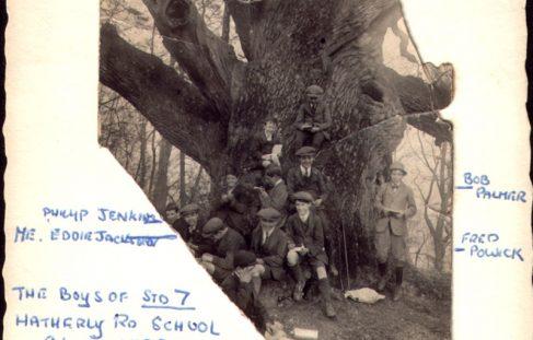Leaving school 1924
