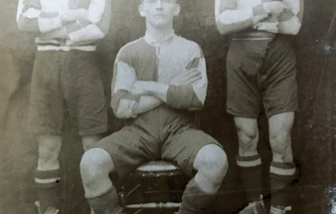 My distant relation was supposed to have played for the Tredworth Rugby Football Club. Is this photo correct? Around 1930-40s