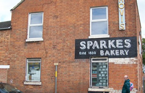Sparkes Bakery on Ryecroft Street Gloucester