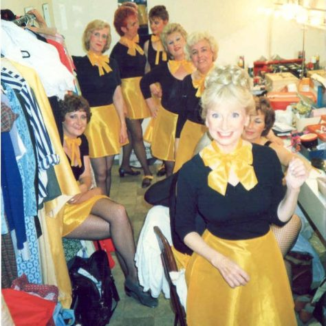 In the Long Dressing room at the Picturedrome | Mrs L. Campbell