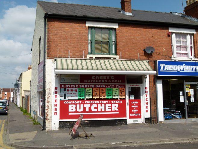 Carey's Butchers, High Street   Dave Bailes