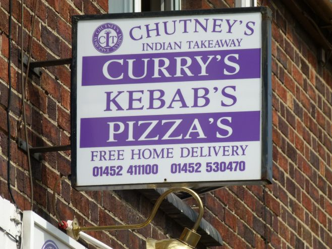 Chutney's Planet sign | Dave Bailes
