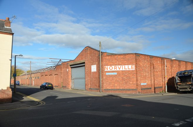 The former Norville optics factory, Tarrington Rd | Dave Bailes