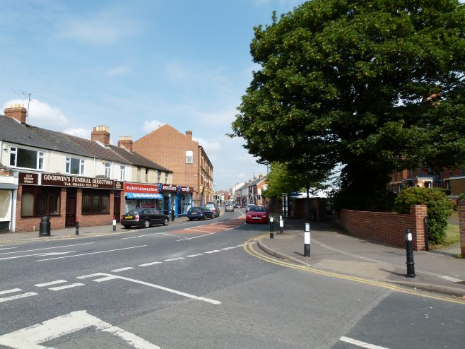 Barton Street from the India House junction | Dave Bailes