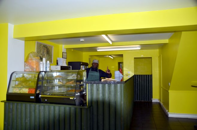 The Hot Spicy Caribbean Takeaway on Tredworth High Street | Dave Bailes/Roland Clark