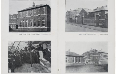 The Opening of the Derby Road Council Schools