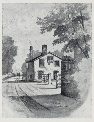 The tramway in Barton Street   Gloucestershire Archives (reference NV3/3/1)