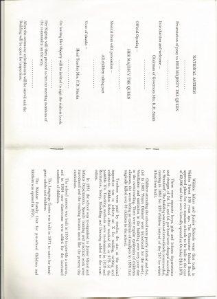 Programme Ps 3 &4