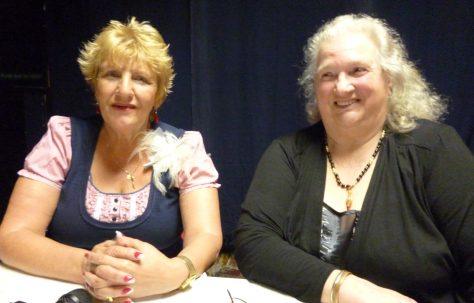 Gloria Hardwick and Josie Newman