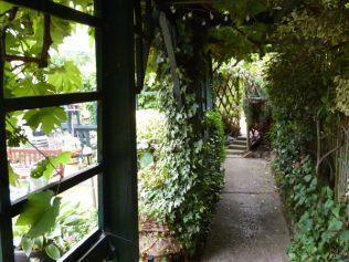 A view of the award winning beer garden