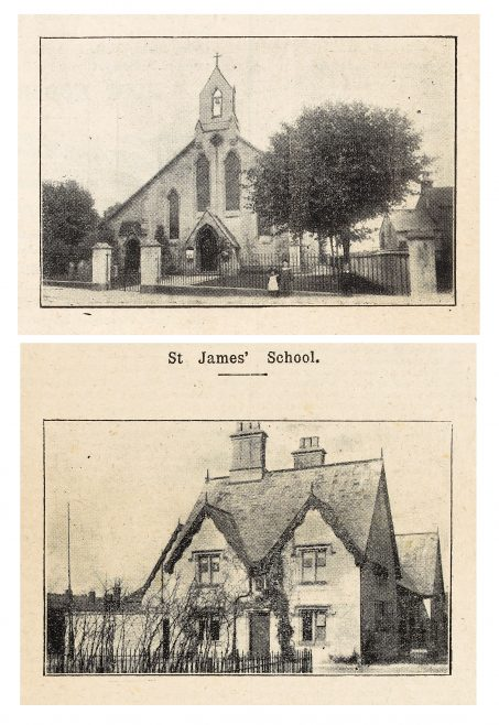 P154/8 SC13 St James' Church and School | Gloucestershire Archives