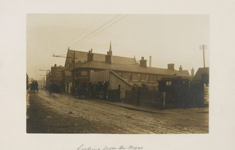 Photographs of the southern side of Barton Street