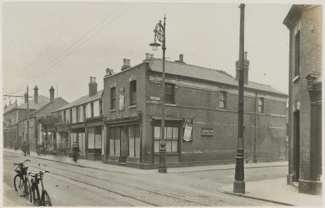 Barton Street before the Picturedrome