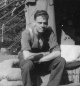 Stan in his army days