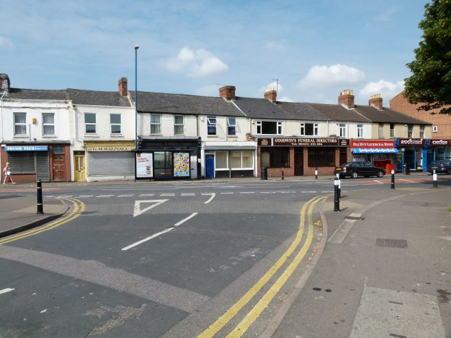Shops on Barton Street from India House | Dave Bailes