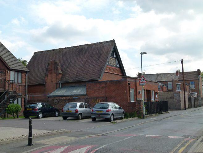St James' parish room, Upton Street, side view | Dave Bailes