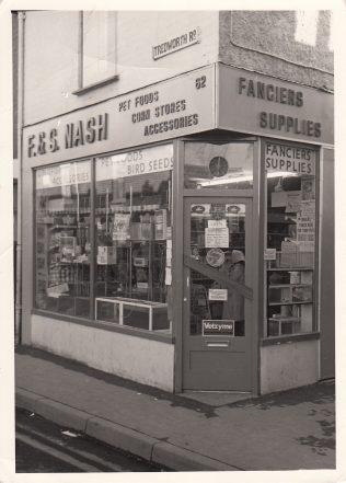 F & S Nash pet shop on Tredworth Road