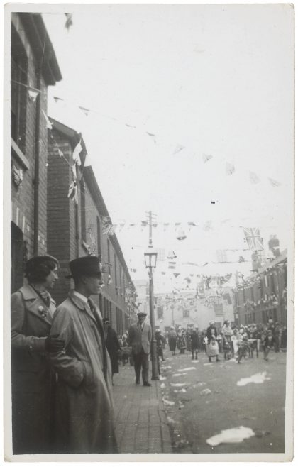 The 1937 Coronation celebrations in Victory Road