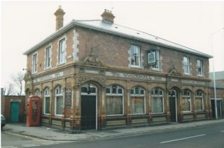 The Vauxhall Inn during the 1980s