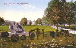 Tank in Gloucester Park