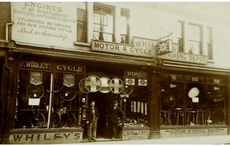 F.Whiley's Cycle Shop